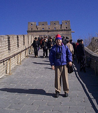 The Great Wall, Beijing, China 1998