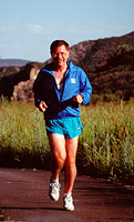 Running in Aspen, CO in 1996